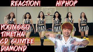 YOUNGGU - HIPHOP FT. TIMETHAI, CD GUNTEE, & DIAMOND | REACTION