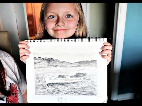 AMAZING KID ARTIST!