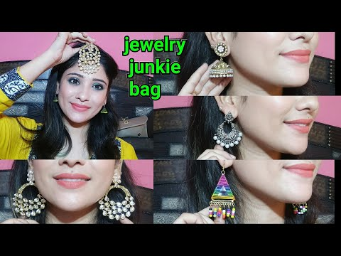 *new *affordable Jewellery bag    Jewellery junkie bag    shystyles