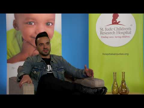 Luis Fonsi talks about his work with St. Jude Children's Research Hospital