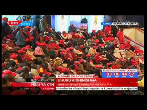 Deputy President William Ruto full speech at Jubilee Endorsement Party at Bomas of Kenya