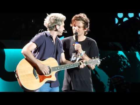 Louis talking