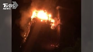 新莊高樓大火 派出31輛消防車救援
