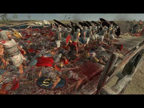 13,000 Egyptians vs 300 Romans! | Total War Rome 2 |