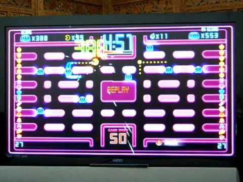 Pac Man CE DX Highway 830 Ghost Combo High Score Replay