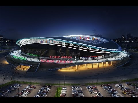 Rosgosstrakh Russian League Stadiums 2015/2016