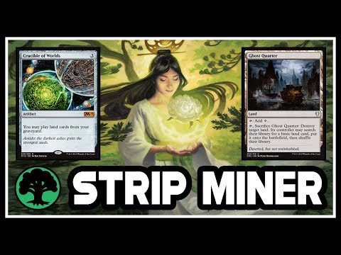 ⛏ Is It Possible To CRUCIBLE STRIP MINE In Modern? ► MTG Modern Gameplay ◄