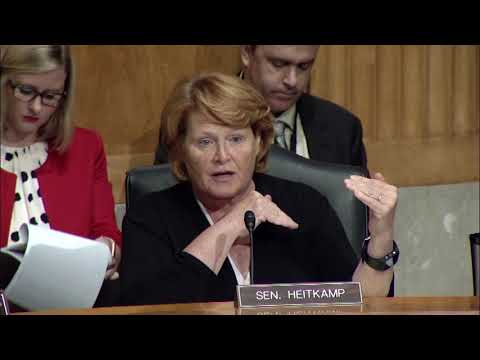 Heitkamp on the Reorganization of the Office of Management and Budget
