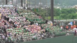 20130714高崎城南球場 群馬高専戦 東京農大二校のオリジナル応援歌.