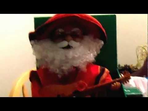 Mexican Santa Claus Sings Merry Christmas