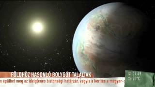 Tudj meg mindent az ˝új Földről˝ - 2015.07.27. - tv2.hu/mokka
