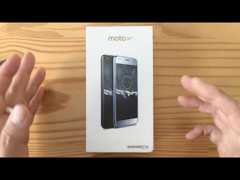 Moto X4 Android One unboxing