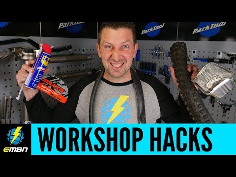 Top 11 Mountain Bike Workshop Hacks | E-MTB Maintenance