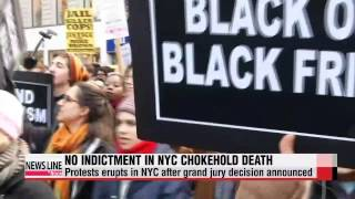 Grand jury decides against indictment for white NYPD officer in death of black m