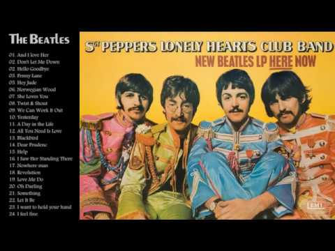 The Beatles Greatest Hits Full Album[cover]---The Best Songs Of The Beatles Nonstop Playlist