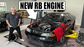 Abandoned R32 gets a new RB engine!