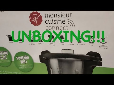 Unboxing Monsieur Cuisine Connect La Conseguí Youtube