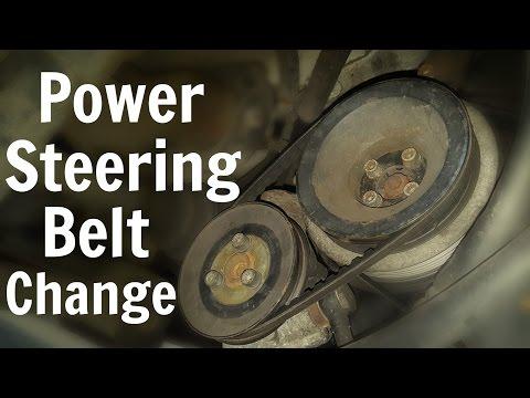 VW T4 Power Steering Belt Change - Volkswagen Transporter
