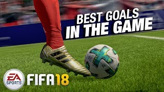 EA Sports FIFA 18 - Best goals in The Game