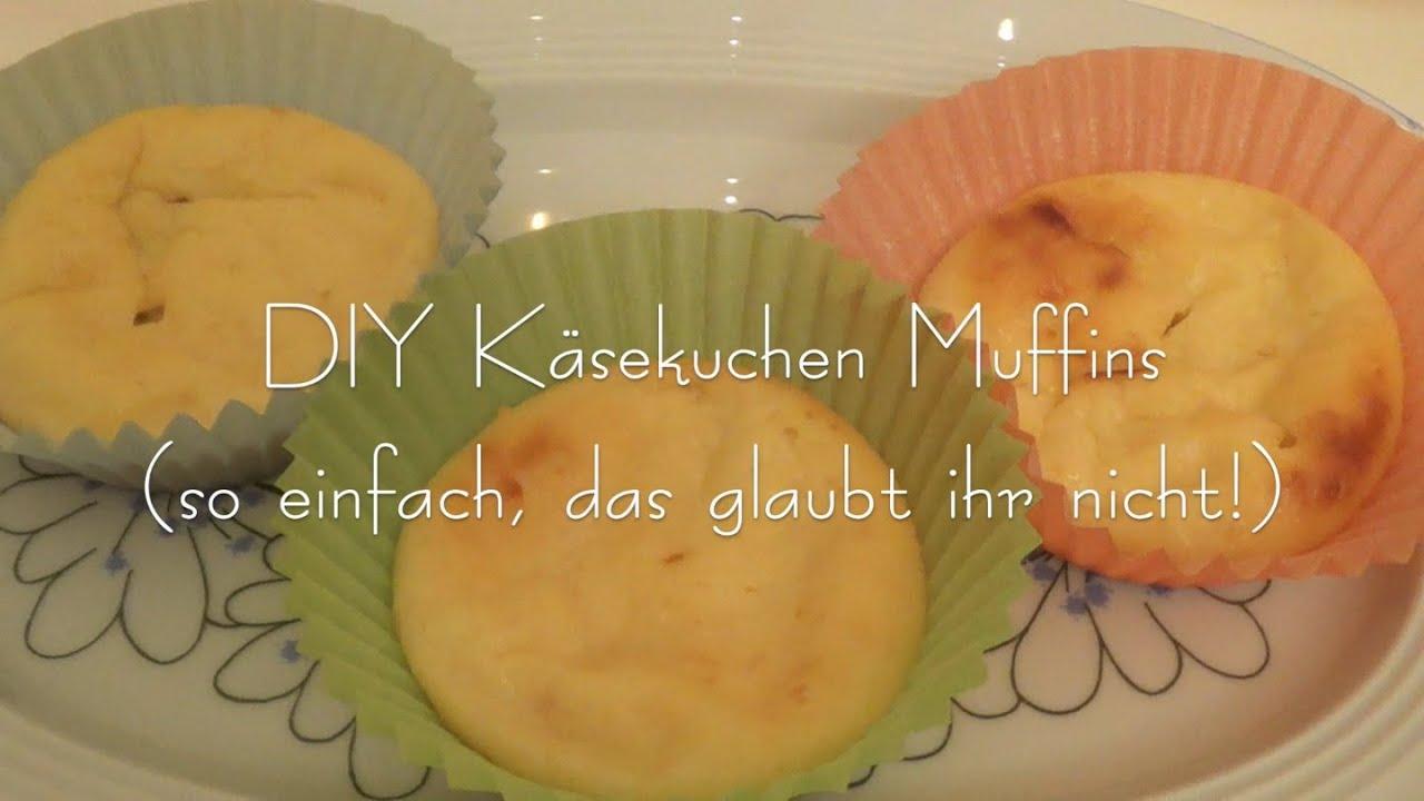 Die Einfachsten Kasekuchen Muffins Ever Youtube