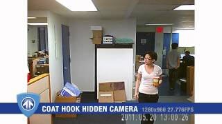 Coat Hook Hidden Camera From Brickhouse