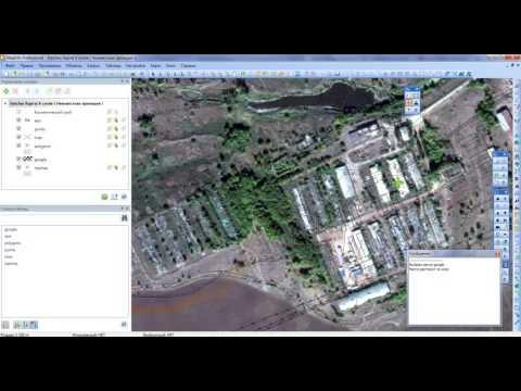 Привязка растра прямо в окне карты Mapinfo с помощью утилиты RegRaster.mbx