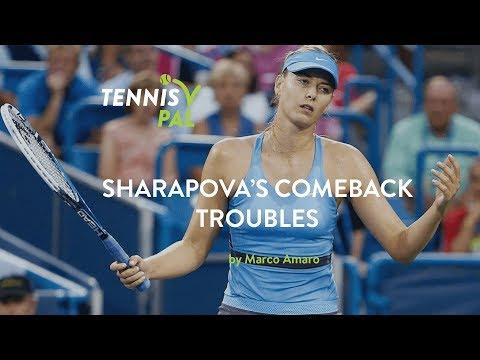 Sharapova's Comeback Troubles