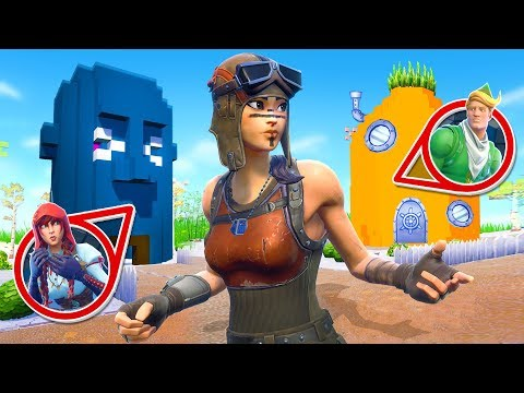3000 IQ VERSTECK in BIKINI BOTTOM! Fortnite HIDE and SEEK!
