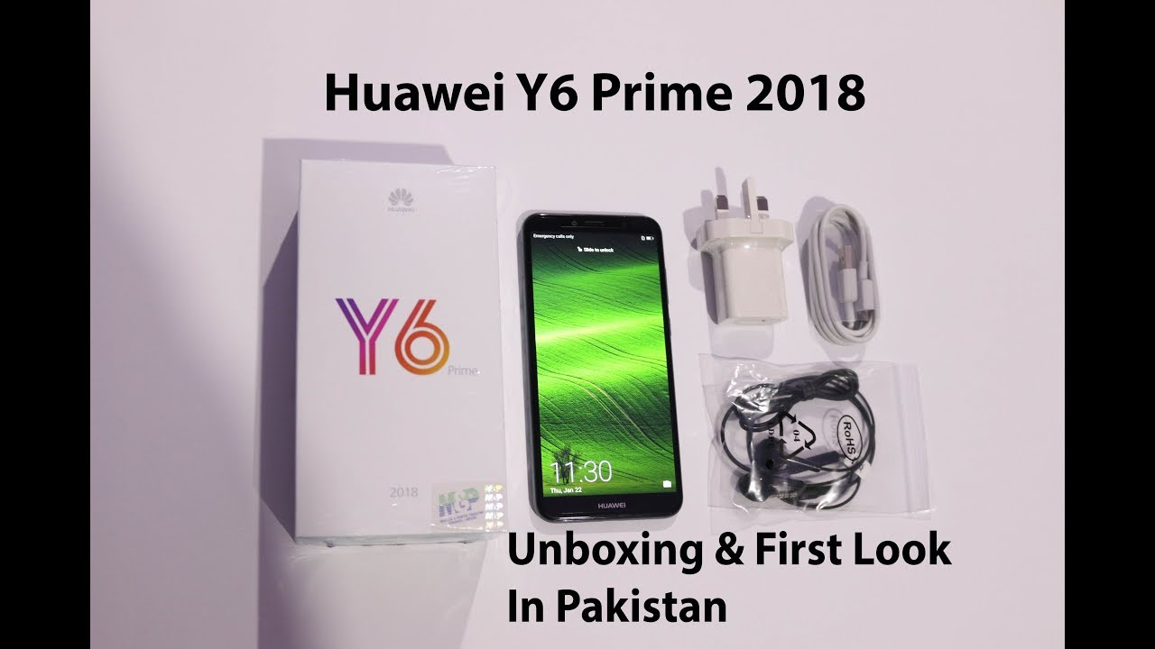 Huawei Y6 Prime 2018 Unboxing | First Look in Pakistan