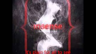 Insense - Alone in a crowd lyrics video