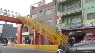 Taxi drive in Lima