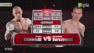 KSW 33 – Łukasz Chlewicki vs Bartłomiej Kurczewski – zapowiedź walki  nr 4