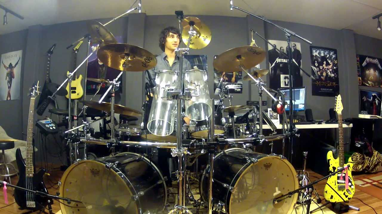Van Halen Hot For Teacher Drum Cover By Josh Gallagher Youtube
