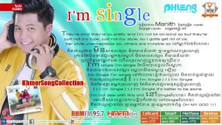 I'm Single by Manith (Phleng Records CD)