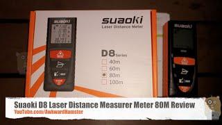 suaoki d8 laser distance measurer meter 80m review