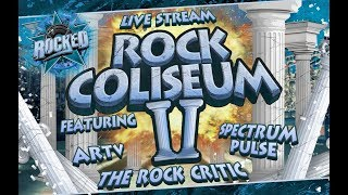 Baixar Rock Coliseum II (feat. ARTV, Spectrum Pulse, The Rock Critic) | Live Stream | Rocked