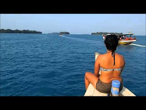 Visiting Harapan Island at Thousand Islands