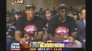 1998 Chicago Bulls / Michael Jordan - Final Championship Celebration Rally - Grant Park