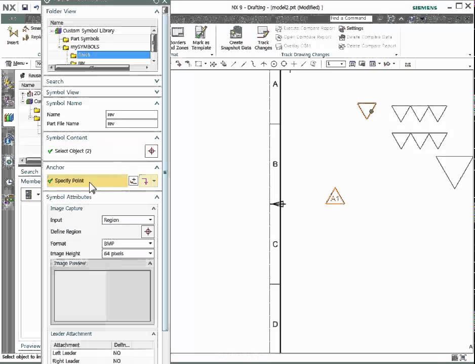 Nx 9 Custom Symbol Setting Use Youtube