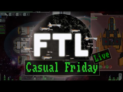 Casual Friday Live: Faster than Light - Twitch-Aufzeichnung