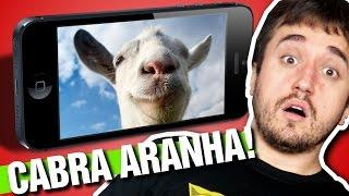 CABRA PORTÁTIL! - Goat Simulator (iPad)