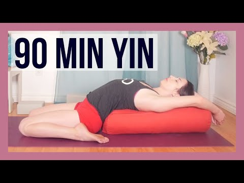 Full Body Yin Yoga Deep Stretch {90 min}