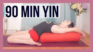 Full Body Yin Yoga Deep Stretch {90 min}