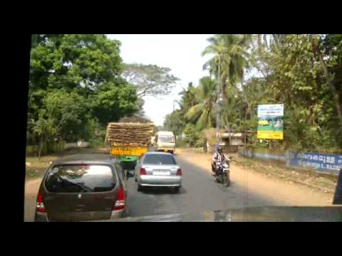 KSRTC trying to overtake on thrissur kunnamkulam road