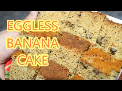 Banana Cake In Convection Microwave