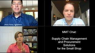 MMT Chats: Supply Chain Management and Procurement Solutions for the Small Shop