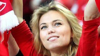 Самые красивые футбольные фанаты (2020)