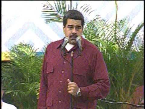 Maduro: Saca tus manos de aquí, Donald Trump, basta de intervencionismo