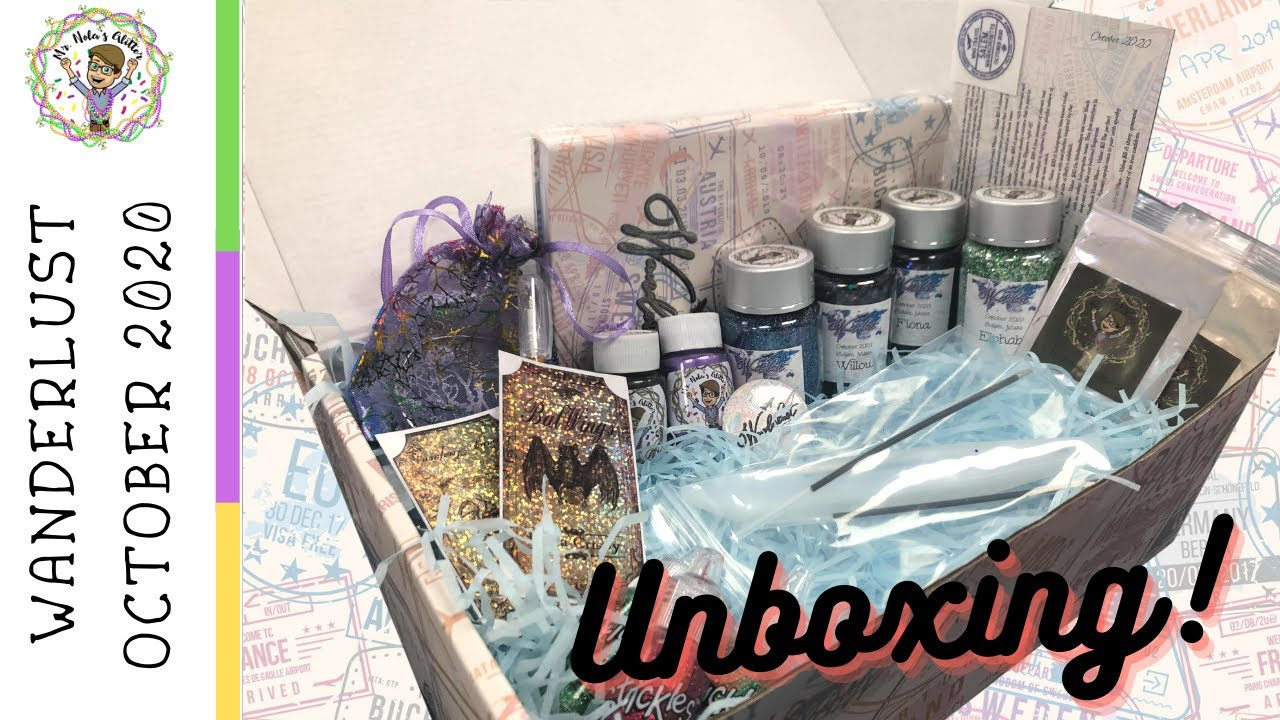 Unboxing our FIRST Wanderlust Subscription Box!