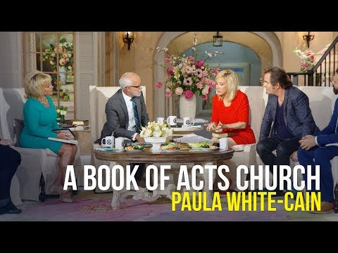 A Book Of Acts Church - Paula White-Cain on The Jim Bakker Show